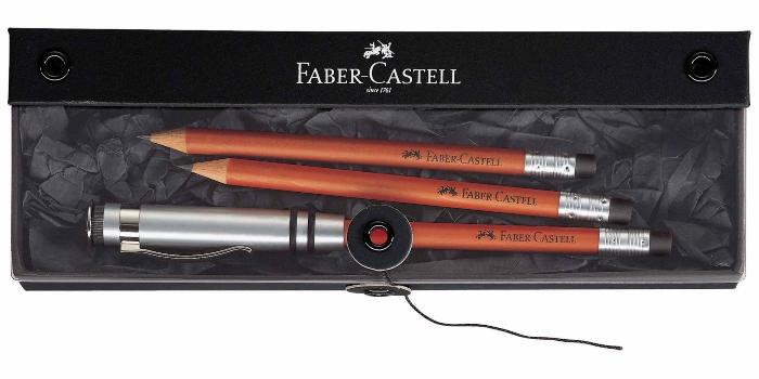 faber-castell-geschenkset-perfekter-bleistift-design-braun-handschrift-verbessern