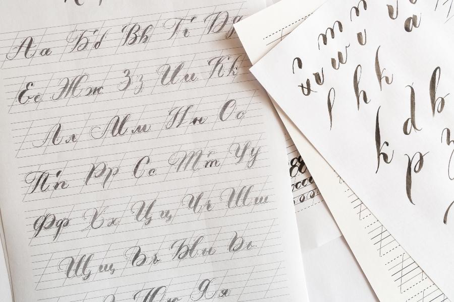 kalligrafie-ueben
