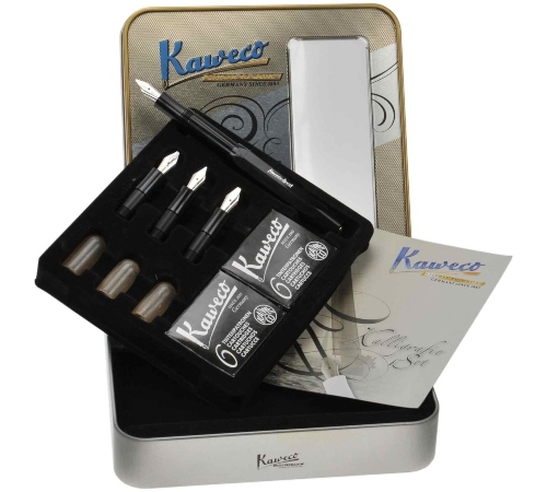 kaweco-kalligrafie-set-schwarz