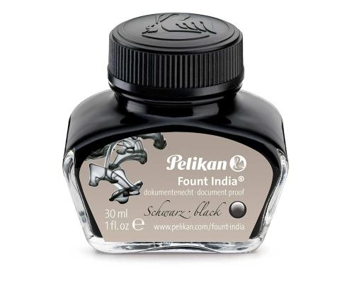 pelikan-fuellhaltertusche-30-ml-fount-india-schwarz