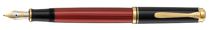 pelikan-souveraen-600-kolbenfuellhalter-schwarz-rot-fuellfederhalter-test