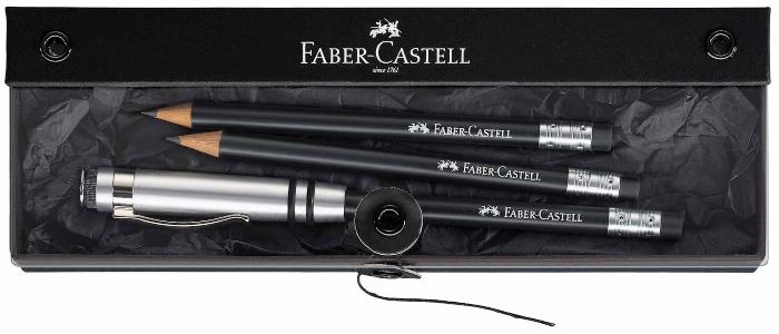 faber-castell-geschenkset-perfekter-bleistift-design-schwarz-gute-stifte-zum-zeichnen