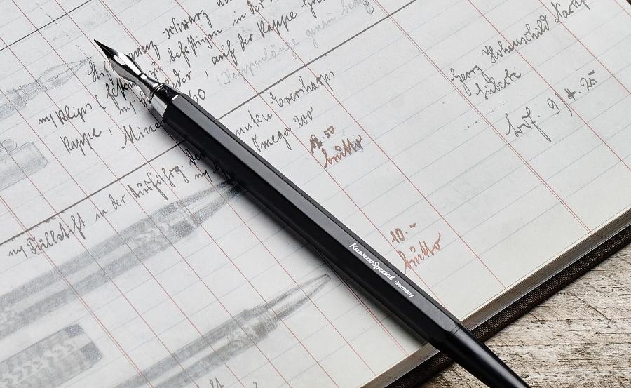 Kaweco SPECIAL Dip pen richtige-federstaerke-finden