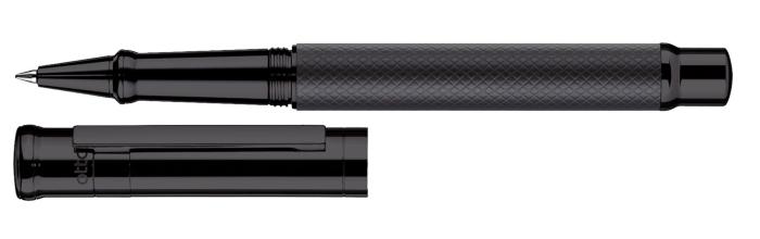 otto-hutt-entwurf-04-rollerball-karo-all-black