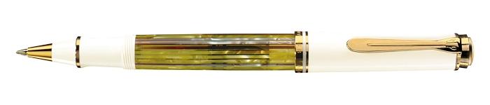 pelikan-souveraen-400-tintenroller-schildpatt-weiss