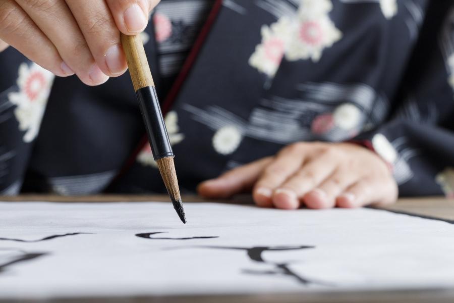 japan-kalligrafie japanische-tinte