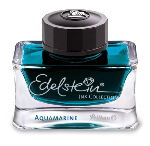 Pelikan Edelstein Tintenglas Aquamarine Türkis