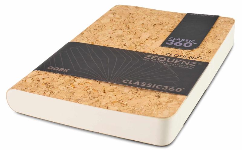 Zequenz Cork Notizbuch 360 Natural A A5 - Skizzenbuch