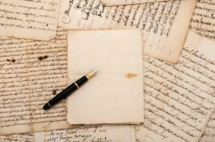 Alte Briefe und ein Füller