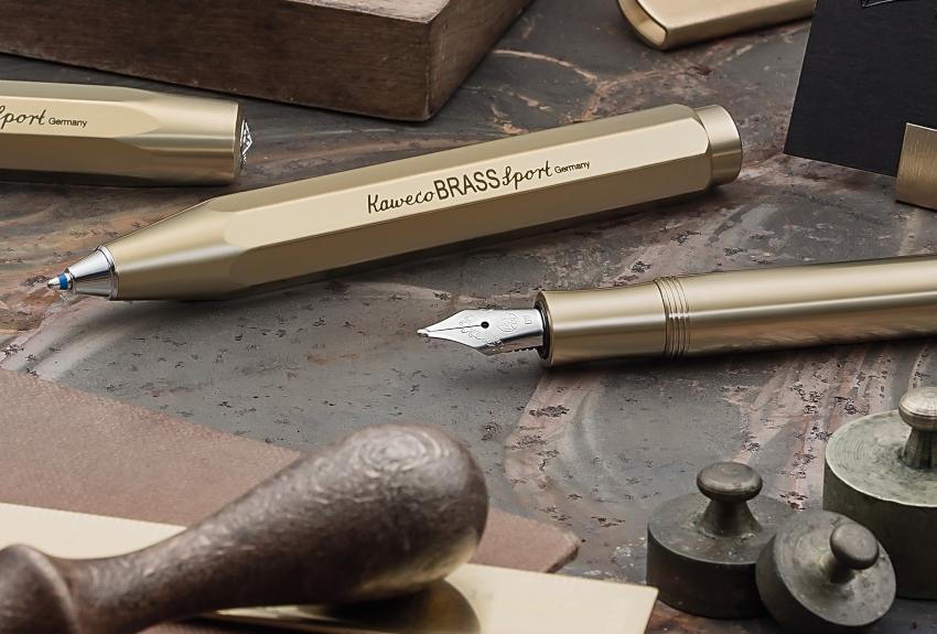 Kaweco BRASS Sport Kalligrafie Füllhalter