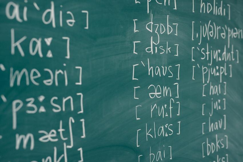 Phonetische Schrift