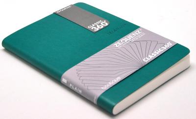 Zequenz Boutique Notizbuch 360 Grün A5