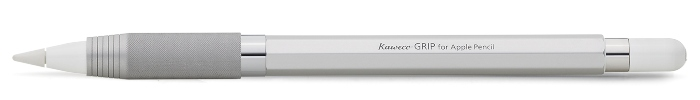 kaweco-bleistifthuelle-grip-fuer-apple-pencil-silber