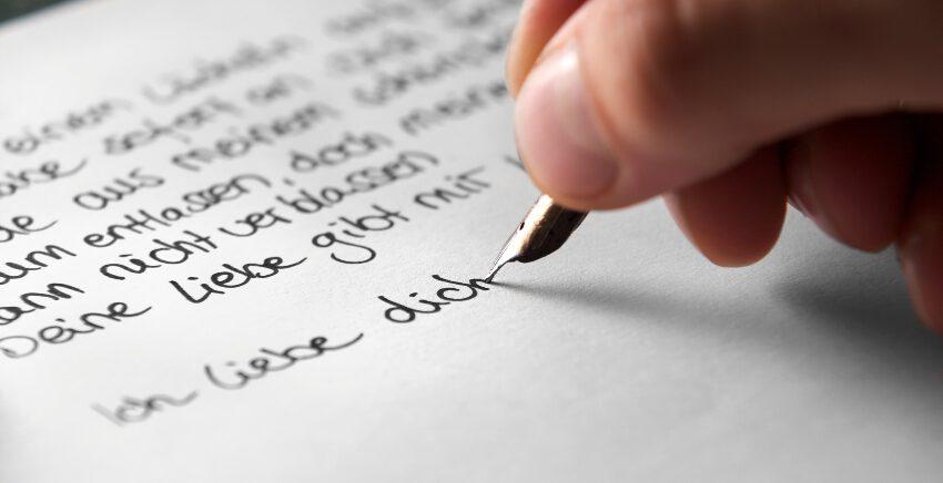 Handschrift verbessern