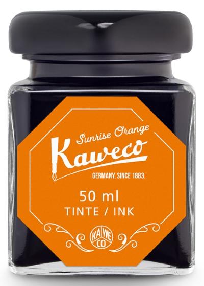 Kaweco Tintenglas Sonnenaufgang Orange 50 ml