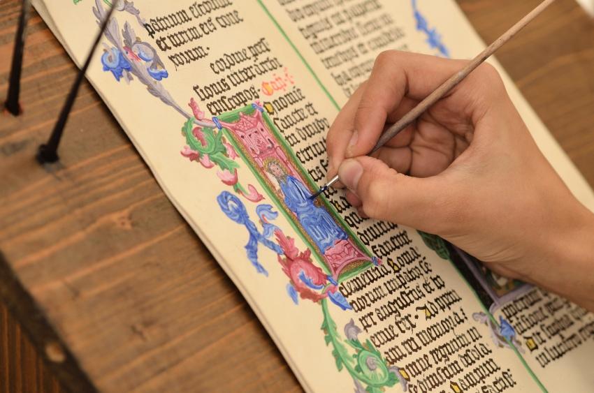 Buchmalerei im Mittelalter