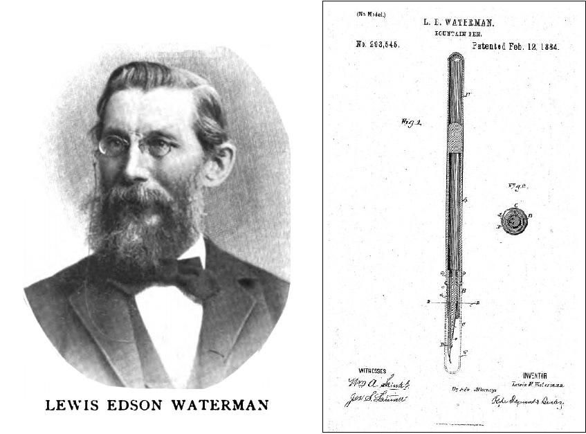 Waterman, Erfinder des modernen Füllfederhalters