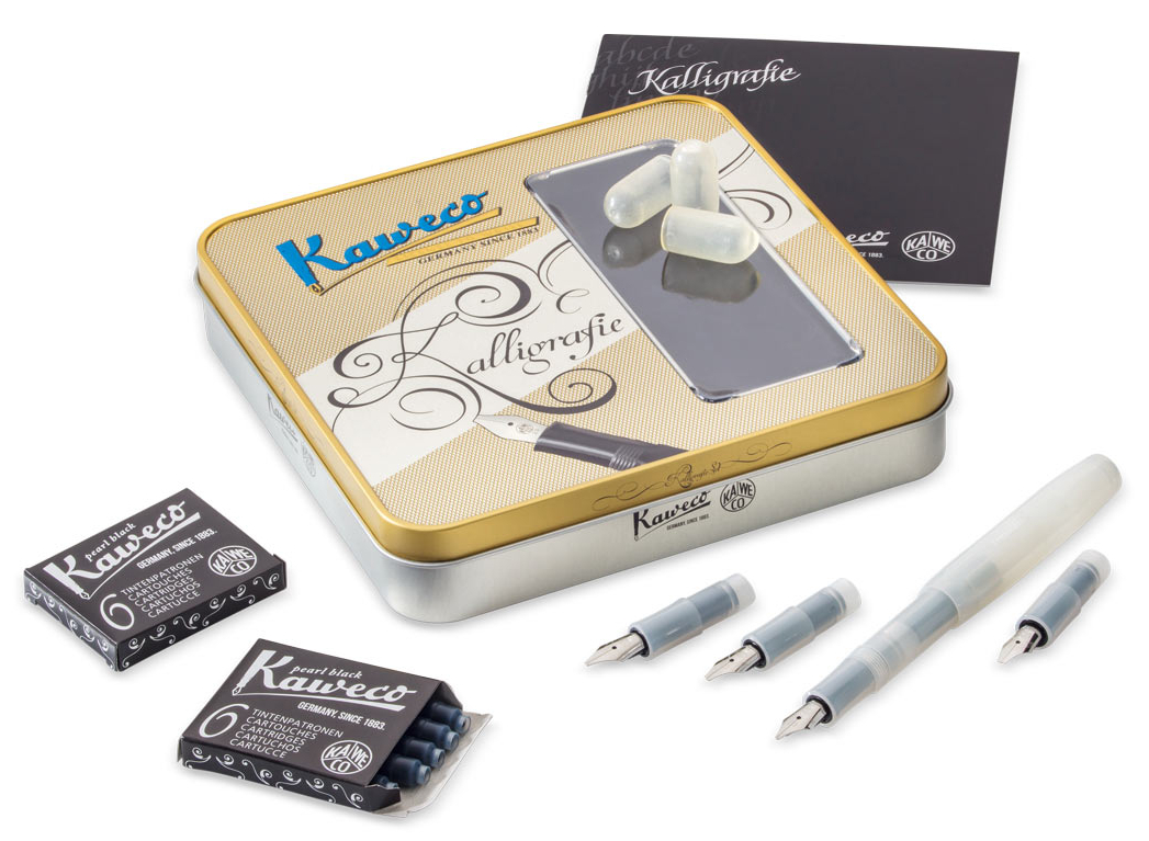 Kaweco KALLIGRAFIE Set Natural Coconut