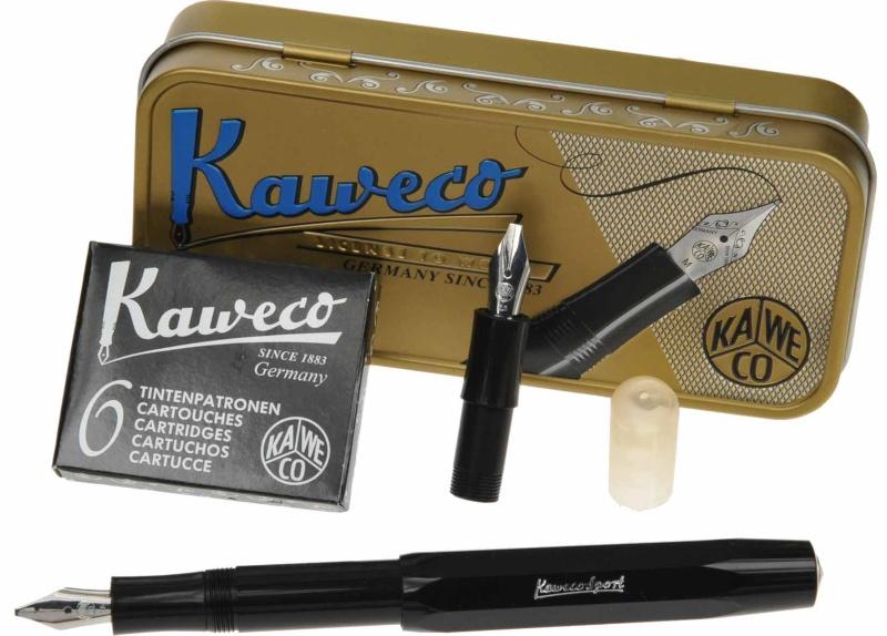 "Kaweco KALLIGRAFIE Set ""S"" Schwarz"