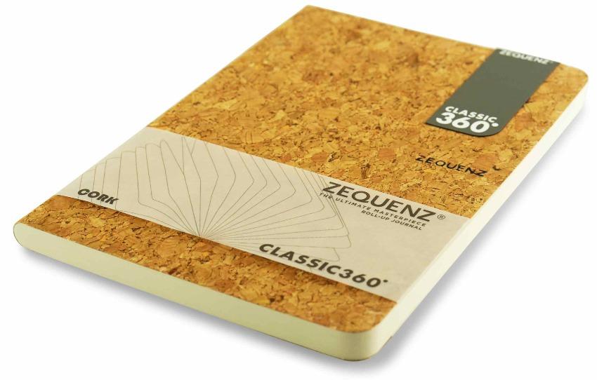 Zequenz Cork Lite Notizbuch A5 Wildstyle natural A