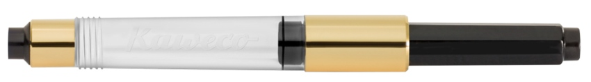 Kaweco Standard Konverter Perlenschwarz Gold