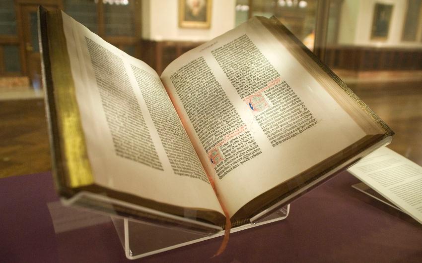 Gutenberg Bibel, ca. 1455