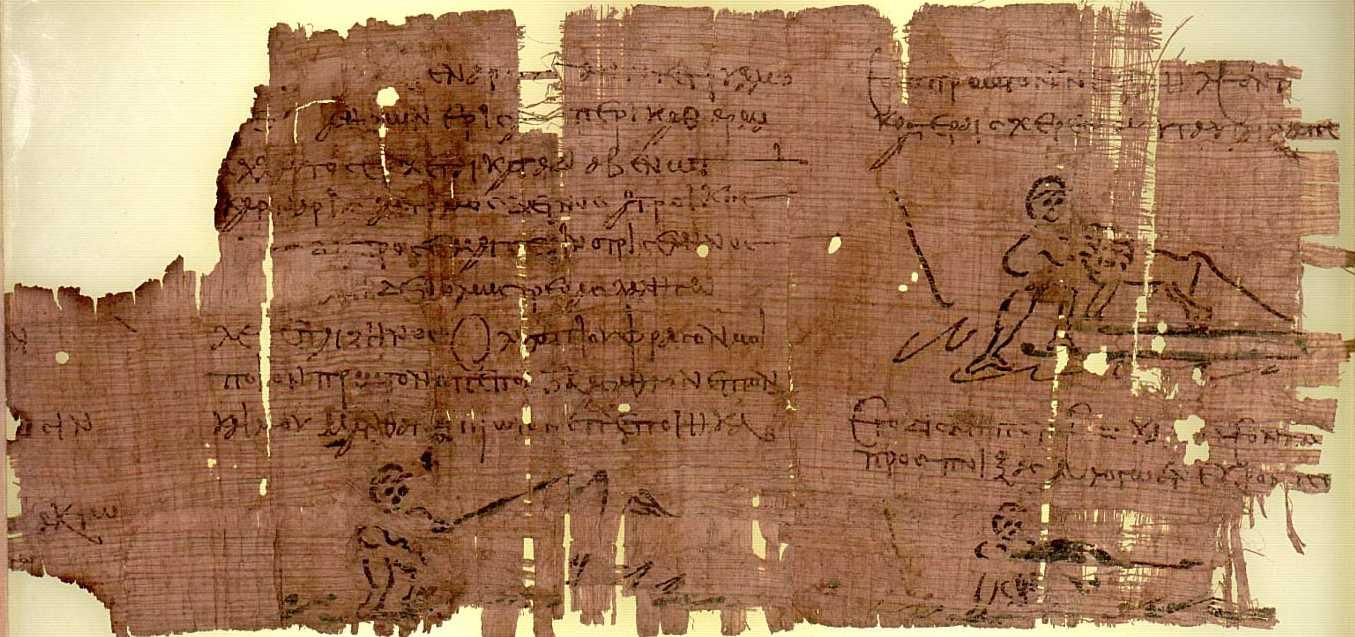 Das Heracles Papyrus aus dem 3. Jhd nach Christi
