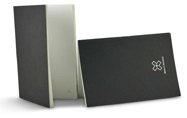 X17 SuperBuch A5 Notizenheftset gepunktet-C - Schreibpapier
