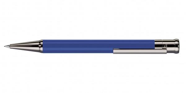 Otto Hutt Entwurf 04 Drehbleistift Kornblumenblau glänzend