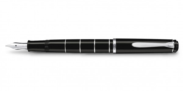 Pelikan Classic 215 piston fountain pen rings black