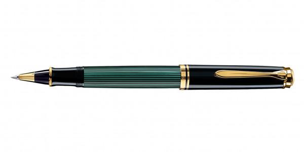 Pelikan Souverän 400 Tintenroller Schwarz Grün