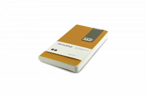 Zequenz Galaxy 360 Notizbuch B6 Slim Gold 10x17,8 cm