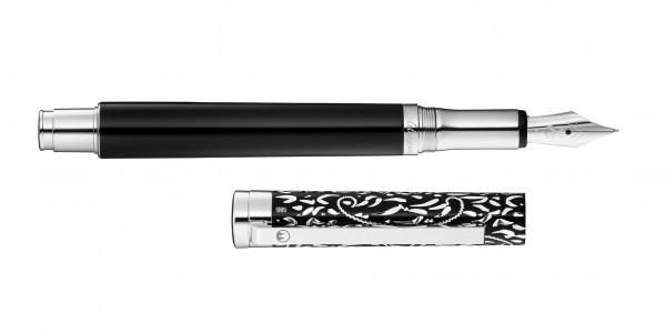 Waldmann Xetra Vienna fountain pen black steel nib