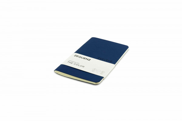 Zequenz The Color Notizbuch Professional Note Dunkles Marineblau