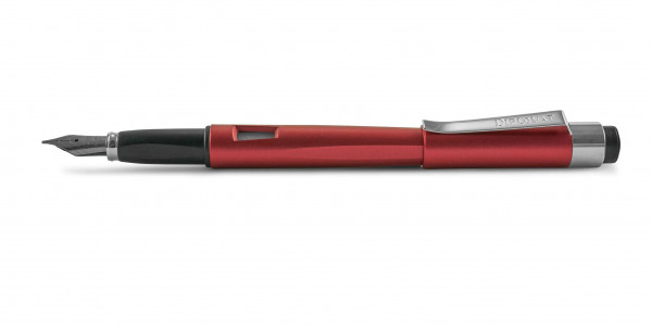 Diplomat Magnum fountain pen burned red