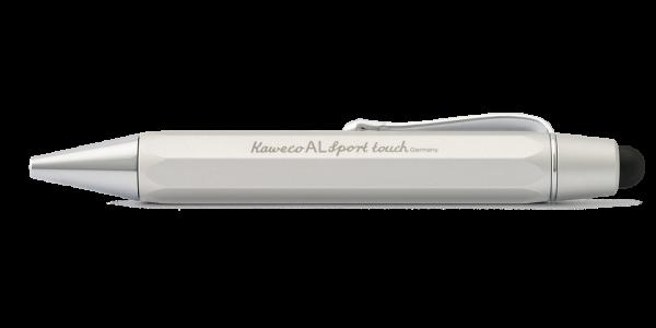 Kaweco AL Sport Touch Kugelschreiber und Stylus Silber