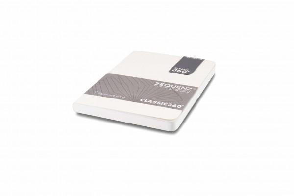 Zequenz Signature Notizbuch 360 Weiß A6 Lite 10.5x14 cm