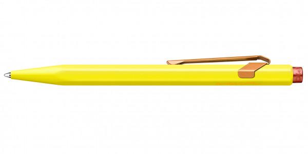 Caran d'Ache 849 Claim Your Style Kugelschreiber Kanariengelb