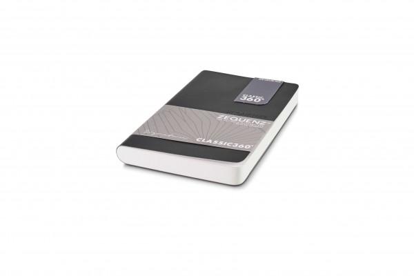 Zequenz Signature notebook 360 black A6 Mini