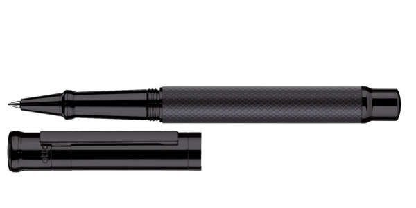Otto Hutt Design 04 rollerball square All Black