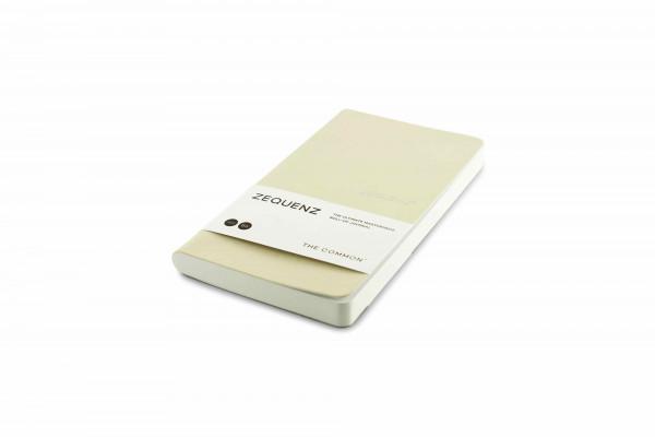 Zequenz The Common Notizbuch B6 Perle