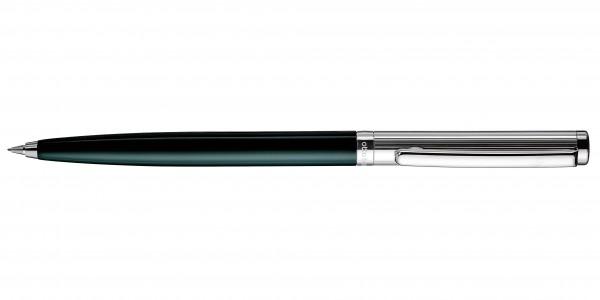 Otto Hutt Entwurf 01 Dreh Bleistift Streifen Guilloche Grün