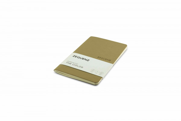 Zequenz The Color Notizbuch Professional Note Taupe Braun