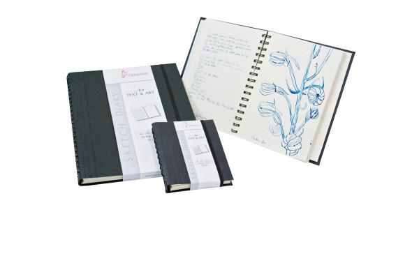 Hahnemühle SKETCH DIARY Notizbuch spiralgebunden A4