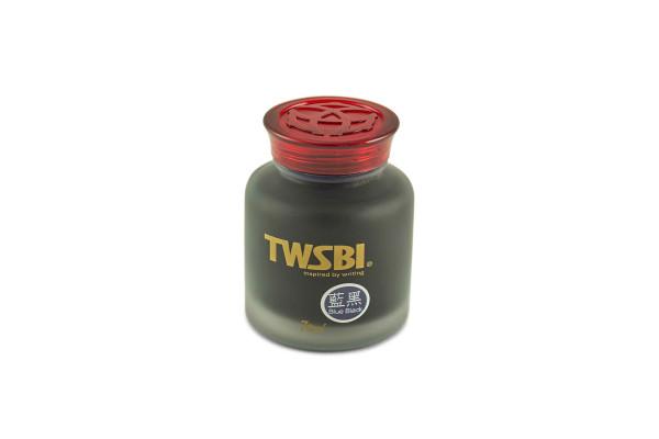 TWSBI Tintenglas Blau-Schwarz 70 ml, Eisengallustinte