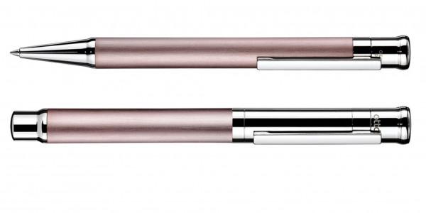 Otto Hutt Entwurf 04 Füllhalter + Kugelschreiber-Set Pearl Pink HARMONY Limited Edition