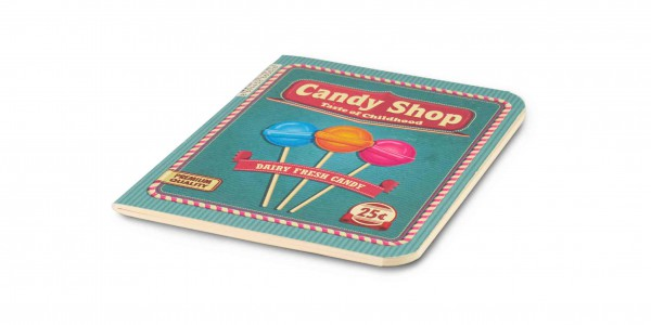 The Container Retro Notizbuch Candy Shop