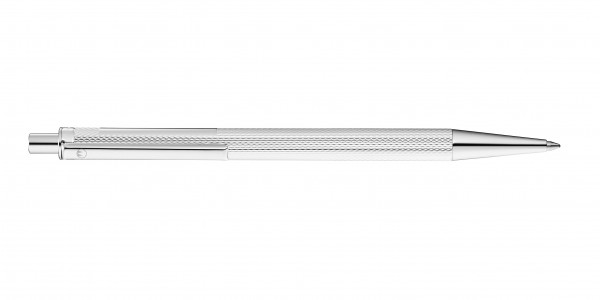 Waldmann Eco Druckkugelschreiber Korn-Design Silber