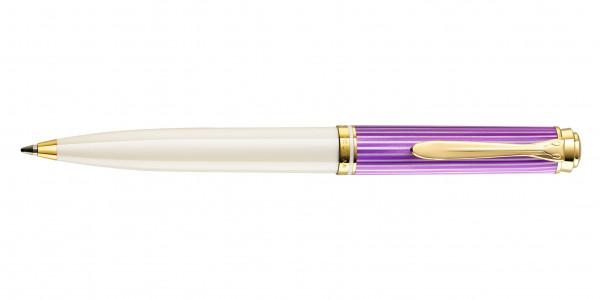Pelikan Souverän 600 Kugelschreiber Violett-Weiß