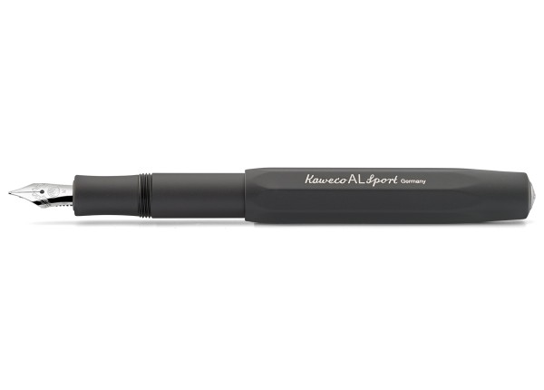 Kaweco AL Sport fountain pen black nib steel